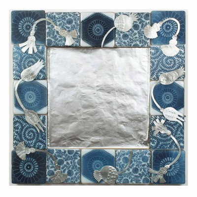 port-indianprint-mirror-blue