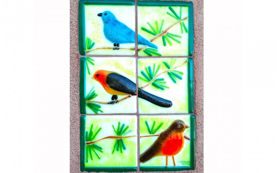 Wall Tile Birds