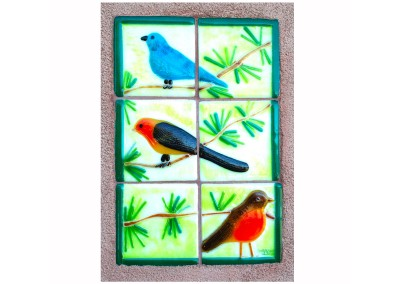Wall Tile Birds